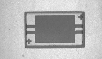 Рис. 3. Место установки кристалла ПАВ фильтра