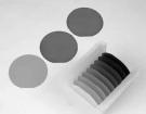Рис.6. Внешний вид пластин ниобата лития с повышенной проводимостью